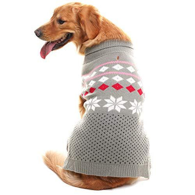 Christmas Snowflake Sweater for Dogs