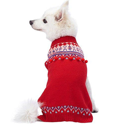 Icelandic Lopi Pullover Dog Sweater