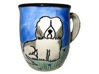 Havanese, Grey and White, Hand-Painted Ceramic Mug