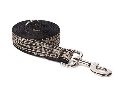 Nylon Faux Bois Dog Leash