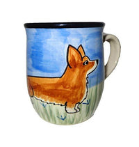 Pembroke Welsh Corgi Hand-Painted Ceramic Mug