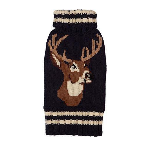 Animal Design Dog Sweater Stag