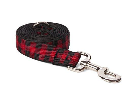 Nylon Buffalo Check Dog Leash