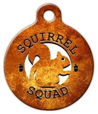 Squirrel Squad Pet ID Tag
