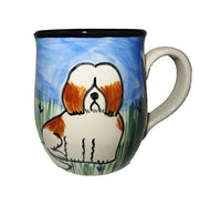 Havanese, Brown and White, Hand-Painted Ceramic Mug