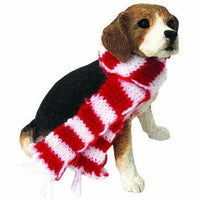 Beagle with Scarf Holiday Ornament