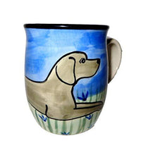 Weimaraner Hand-Painted Ceramic Mug