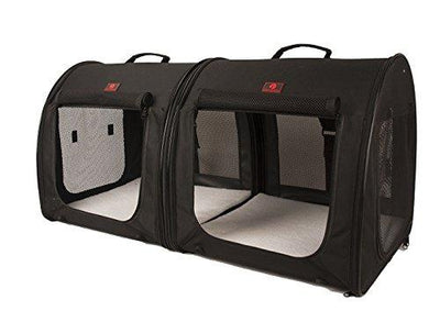 Portable 2-in-1 Double Pet Kennel