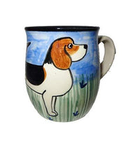 Beagle Hand-Painted Ceramic Mug