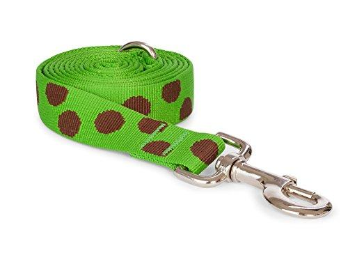 Nylon Polka Dot Dog Leash