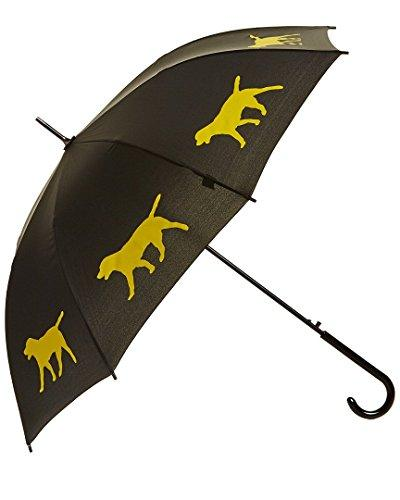 Labrador Retriever Umbrella - Black & Yellow
