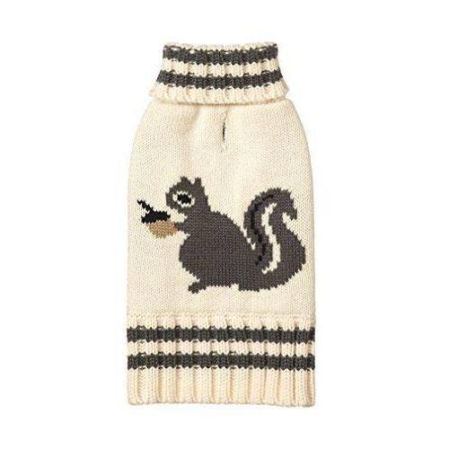 Animal Design Dog Sweater - Squirrel