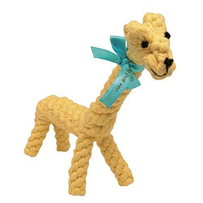 Jax and Bones Jerry The Giraffe Good Karma Rope Dog Toy