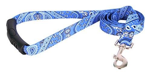 Yellow Dog Design Bandana Blue Ez-Grip Dog Leash