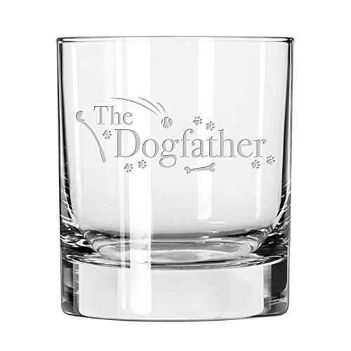 The Dogfather - Whiskey Glass For Dads