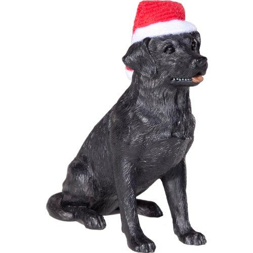 Labrador Retriever, Black, Ornament