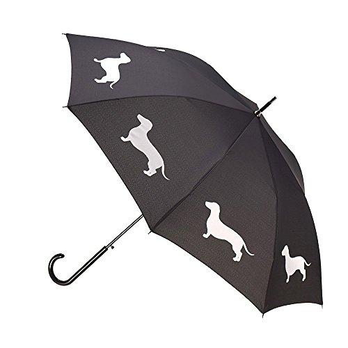 Dachshund Umbrella - Black & White