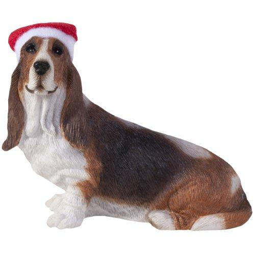 Basset Hound, Turned Head, Ornament