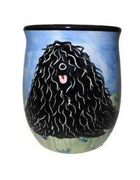Puli Hand-Painted Ceramic Mug