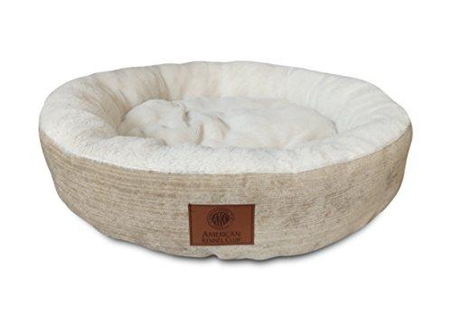 American Kennel Club Casablanca Round Solid Dog Bed