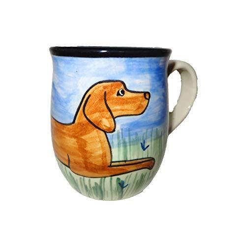 Vizsla Hand-Painted Ceramic Mug