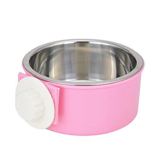 Stainless Steel Removable Hanging Food Bowl