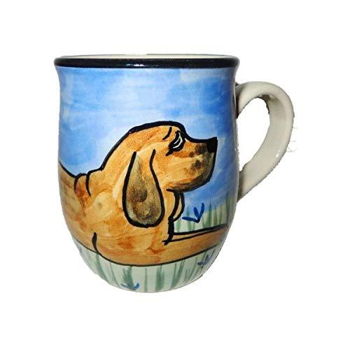 Bloodhound Hand-Painted Ceramic Mug