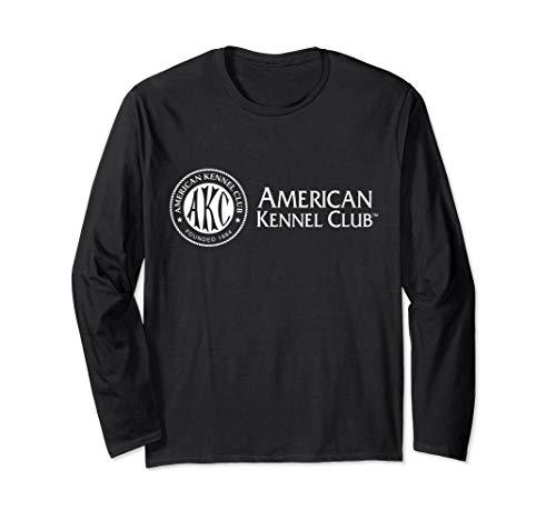AKC White Logo Long Sleeve