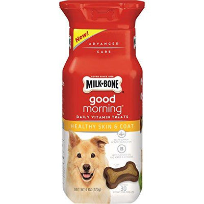 Daily Vitamin Dog Treats for Healthy Skin And Coat