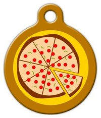 Pizza - Custom Pet ID Tag