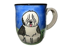 Old English Sheepdog Hand-Painted Ceramic Mug