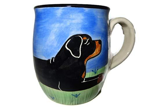 Rottweiler Hand-Painted Ceramic Mug