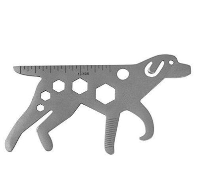 6 in 1 Dog Shaped Pocket Tool