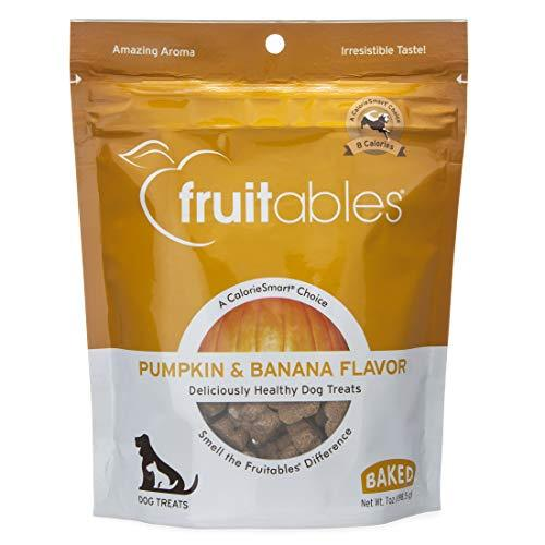 Crunchy Baked Pumpkin & Banana Dog Treats (7oz)