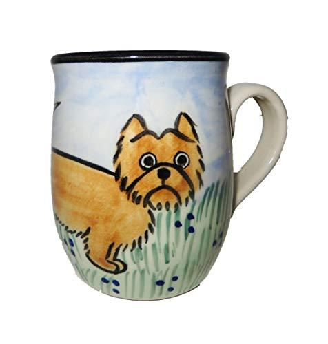 Cairn Terrier Hand-Painted Ceramic Mug