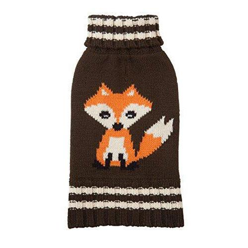 Animal Design Dog Sweater - Fox
