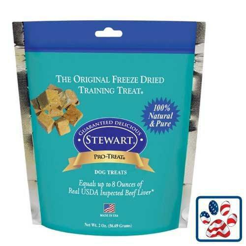 Stewart Pro Treat Freeze Dried Beef Liver 2oz Bag