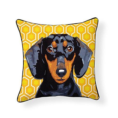 Dachshund Pooch Decor Decorative Pillow