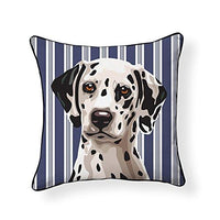 Dalmatian Pooch Decor Decorative Pillow