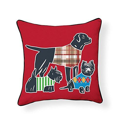 Dog Parade Pillow