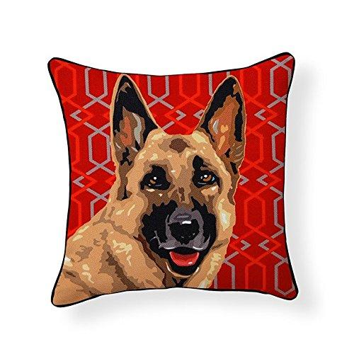 German Shepherd Dog Pooch Decor Decorative Pillow
