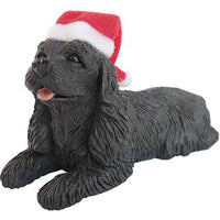 Cocker Spaniel, Black, Ornament