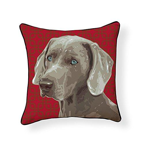 Weimaraner Pillow Pooch Decor Decorative Pillow