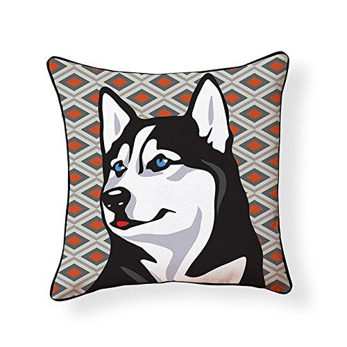 Siberian Husky Pooch Decor Decorative Pillow