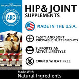 American Kennel Club Hip & Joint Chicken Soft Chew Supplements