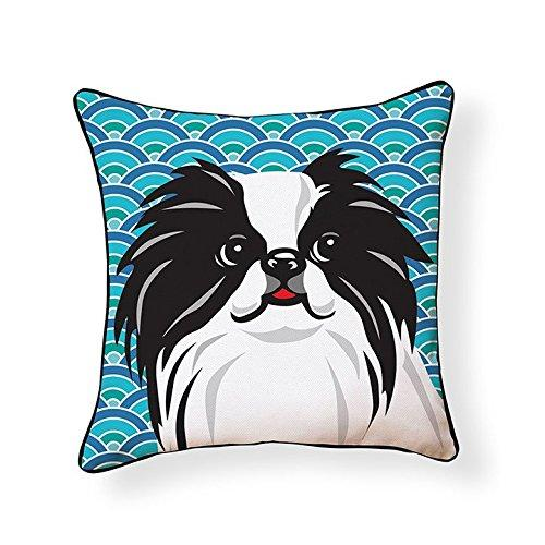 Japanese Chin Pooch Decor Decorative Pillow