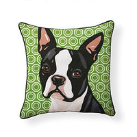 Boston Terrier Pooch Decor Decorative Pillow