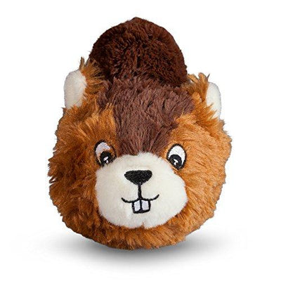 Beaver faball Squeaky Dog Toy
