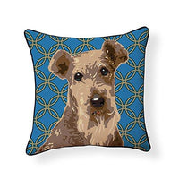 Welsh Terrier Pooch Decor Pillow