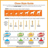 Nylabone Dental Chew Medium Bacon flavored Pro Action Bone Dog Chew Toy